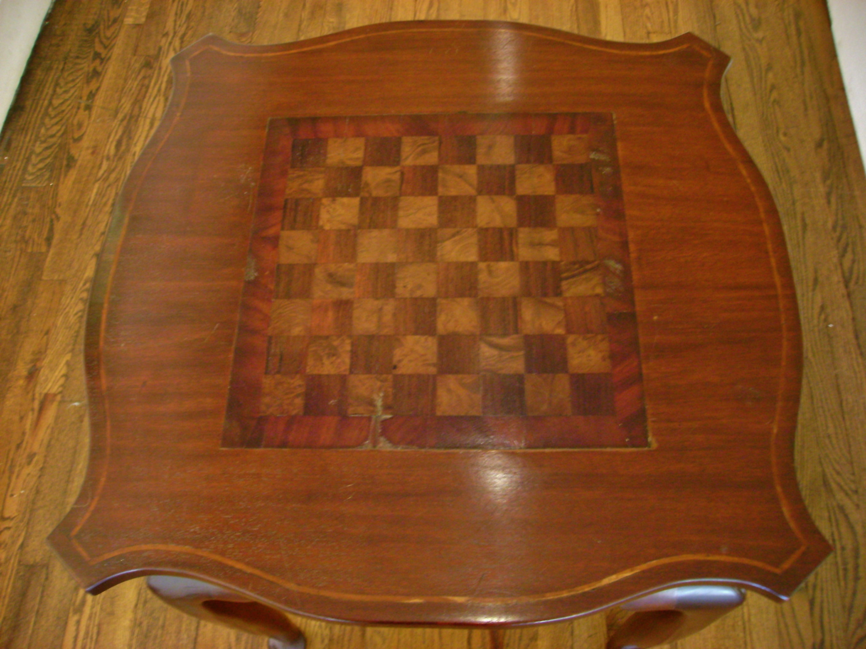Antique Chess Table Top