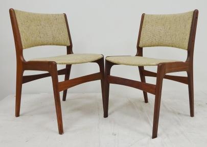 midcentury danish mod chairs