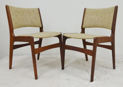 midcentury danish mod chairs